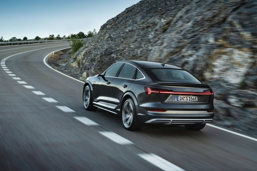 Audi e-tron S and e-tron S Sportback debut with three electric motors – 503 PS, 937 Nm; 0-100 km/h in 4.5s Image #1175692