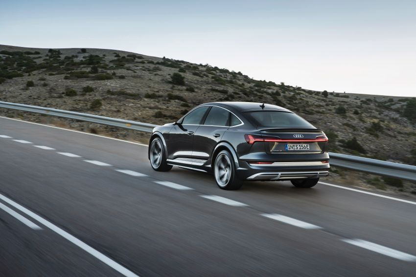 Audi e-tron S and e-tron S Sportback debut with three electric motors – 503 PS, 937 Nm; 0-100 km/h in 4.5s Image #1175693