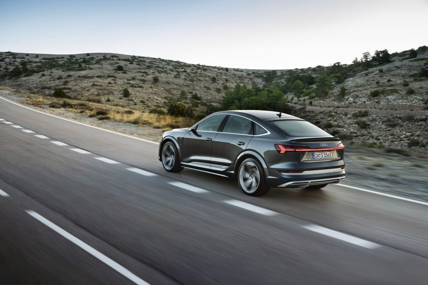 Audi e-tron S and e-tron S Sportback debut with three electric motors – 503 PS, 937 Nm; 0-100 km/h in 4.5s Image #1175695