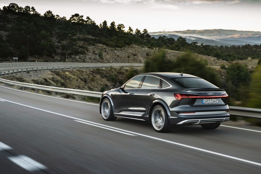 Audi e-tron S and e-tron S Sportback debut with three electric motors – 503 PS, 937 Nm; 0-100 km/h in 4.5s Image #1175696