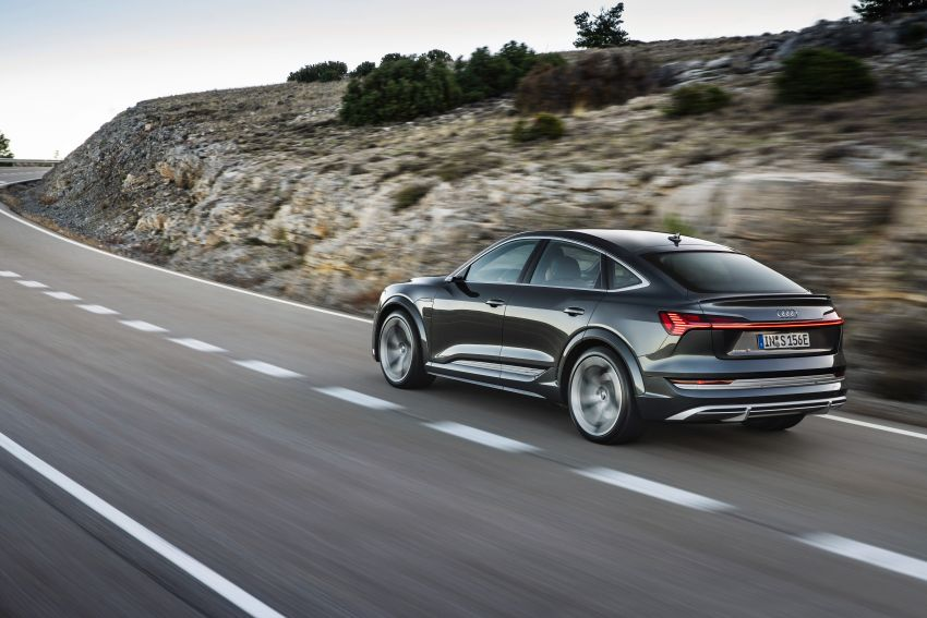 Audi e-tron S and e-tron S Sportback debut with three electric motors – 503 PS, 937 Nm; 0-100 km/h in 4.5s Image #1175697