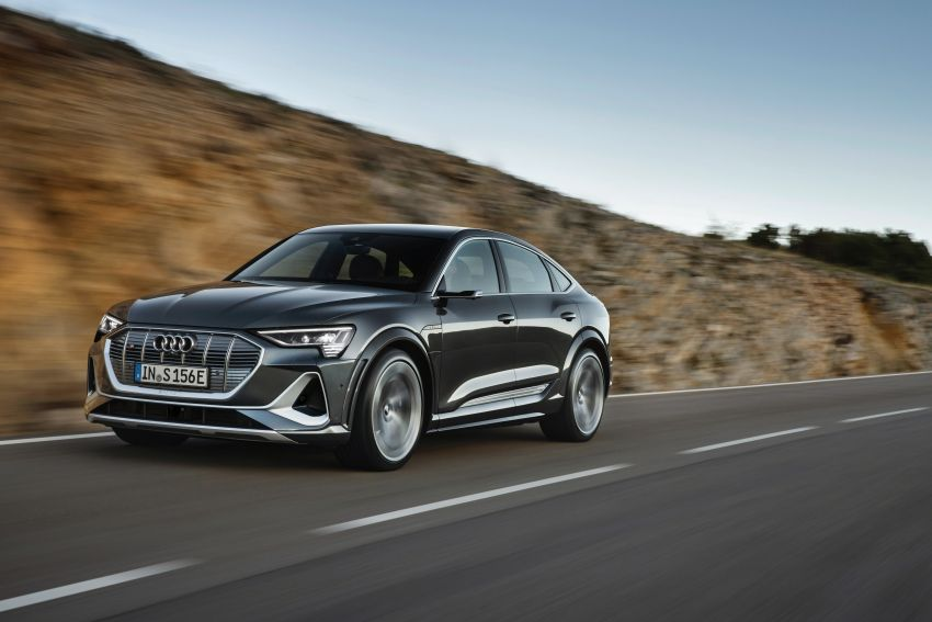 Audi e-tron S and e-tron S Sportback debut with three electric motors – 503 PS, 937 Nm; 0-100 km/h in 4.5s Image #1175699