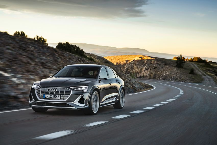Audi e-tron S and e-tron S Sportback debut with three electric motors – 503 PS, 937 Nm; 0-100 km/h in 4.5s Image #1175700