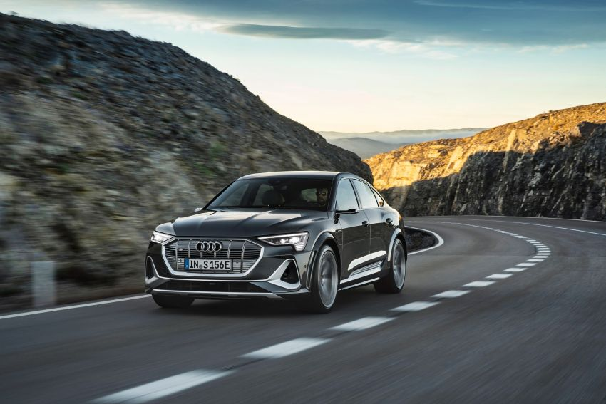 Audi e-tron S and e-tron S Sportback debut with three electric motors – 503 PS, 937 Nm; 0-100 km/h in 4.5s Image #1175701