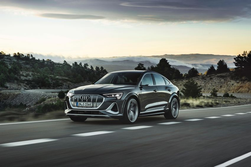 Audi e-tron S and e-tron S Sportback debut with three electric motors – 503 PS, 937 Nm; 0-100 km/h in 4.5s Image #1175702