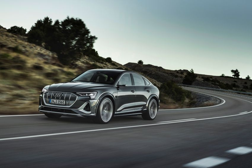 Audi e-tron S and e-tron S Sportback debut with three electric motors – 503 PS, 937 Nm; 0-100 km/h in 4.5s Image #1175703