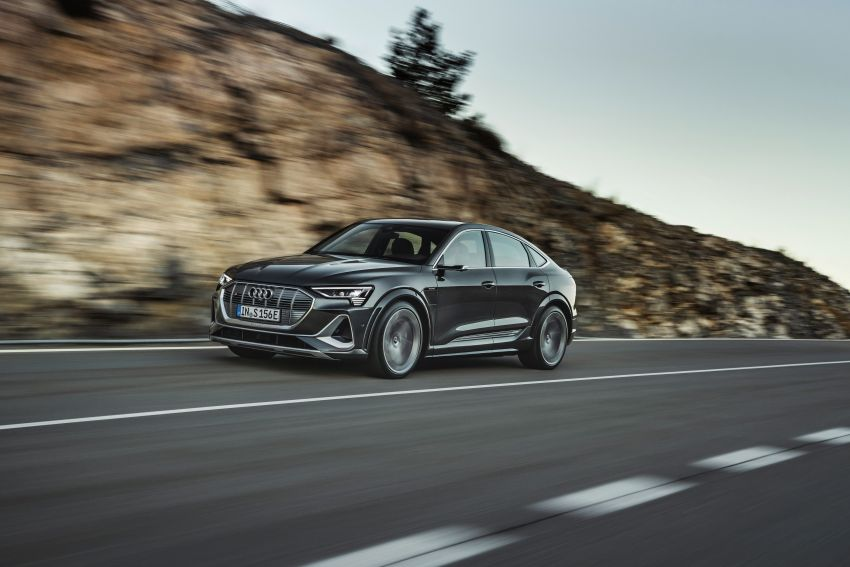 Audi e-tron S and e-tron S Sportback debut with three electric motors – 503 PS, 937 Nm; 0-100 km/h in 4.5s Image #1175704