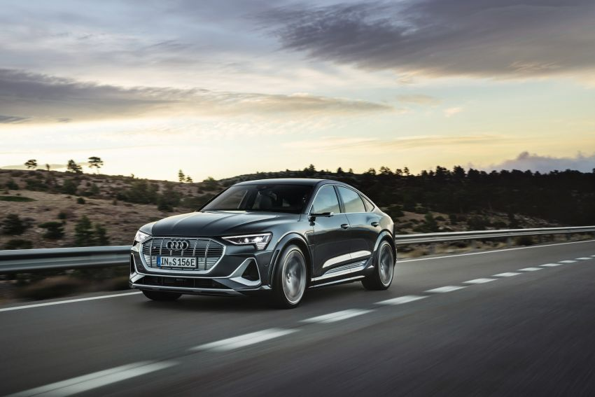Audi e-tron S and e-tron S Sportback debut with three electric motors – 503 PS, 937 Nm; 0-100 km/h in 4.5s Image #1175705