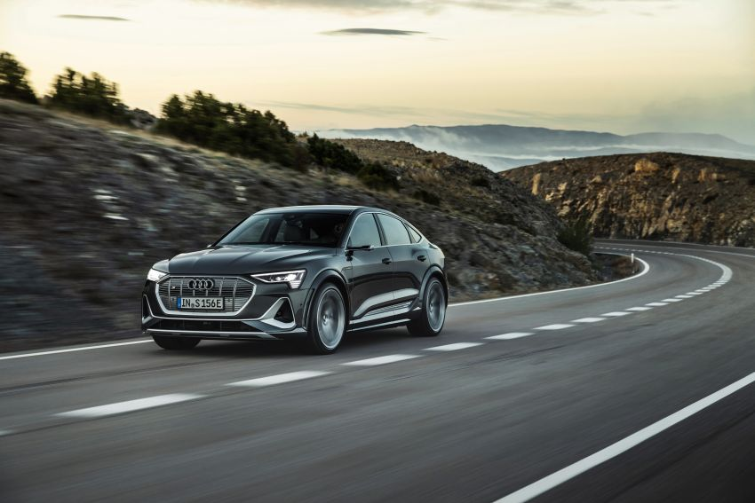 Audi e-tron S and e-tron S Sportback debut with three electric motors – 503 PS, 937 Nm; 0-100 km/h in 4.5s Image #1175706