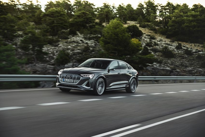 Audi e-tron S and e-tron S Sportback debut with three electric motors – 503 PS, 937 Nm; 0-100 km/h in 4.5s Image #1175707