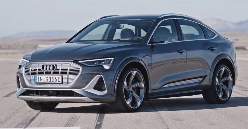 Audi e-tron S and e-tron S Sportback debut with three electric motors – 503 PS, 937 Nm; 0-100 km/h in 4.5s Image #1175655
