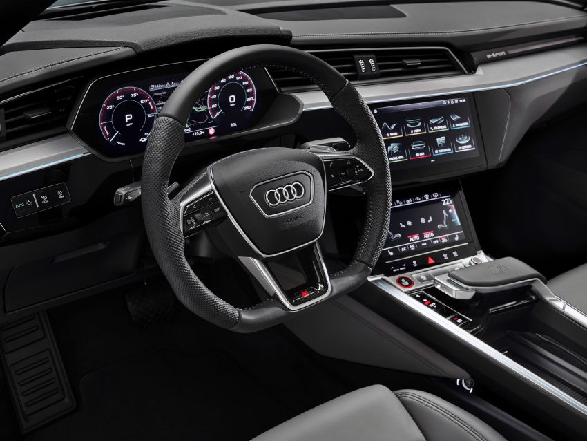 Audi e-tron S and e-tron S Sportback debut with three electric motors – 503 PS, 937 Nm; 0-100 km/h in 4.5s Image #1175711