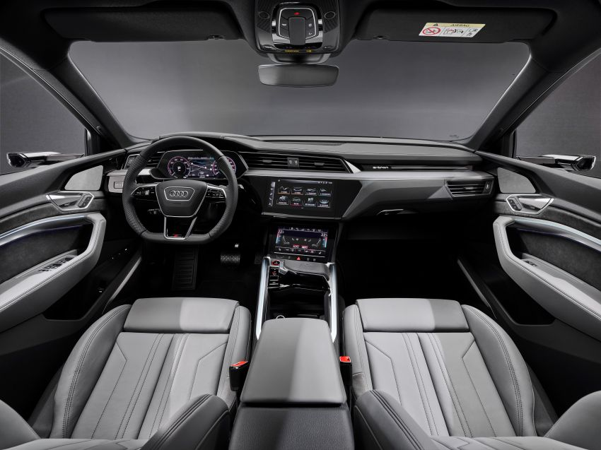 Audi e-tron S and e-tron S Sportback debut with three electric motors – 503 PS, 937 Nm; 0-100 km/h in 4.5s Image #1175712
