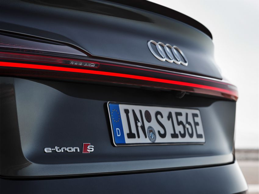 Audi e-tron S and e-tron S Sportback debut with three electric motors – 503 PS, 937 Nm; 0-100 km/h in 4.5s Image #1175717