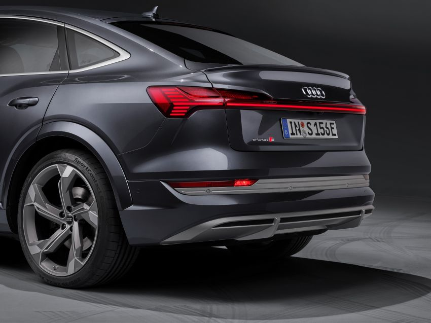 Audi e-tron S and e-tron S Sportback debut with three electric motors – 503 PS, 937 Nm; 0-100 km/h in 4.5s Image #1175721