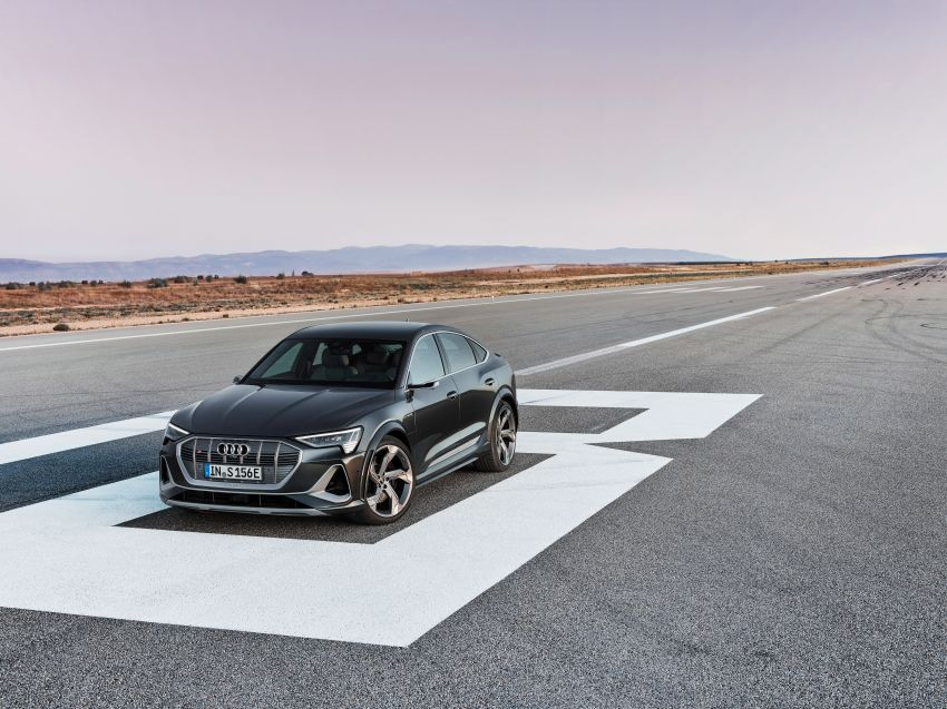 Audi e-tron S and e-tron S Sportback debut with three electric motors – 503 PS, 937 Nm; 0-100 km/h in 4.5s Image #1175656