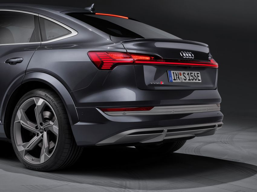 Audi e-tron S and e-tron S Sportback debut with three electric motors – 503 PS, 937 Nm; 0-100 km/h in 4.5s Image #1175722