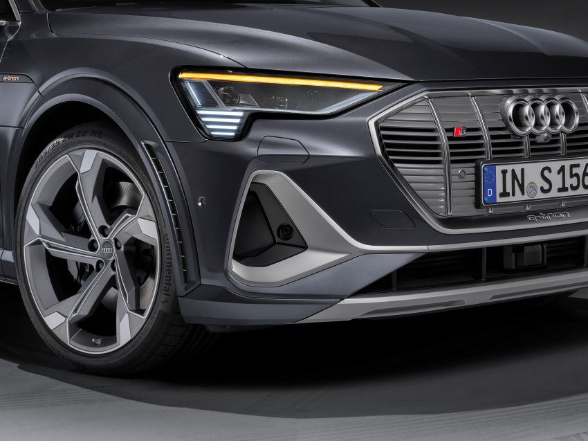 Audi e-tron S and e-tron S Sportback debut with three electric motors – 503 PS, 937 Nm; 0-100 km/h in 4.5s Image #1175725