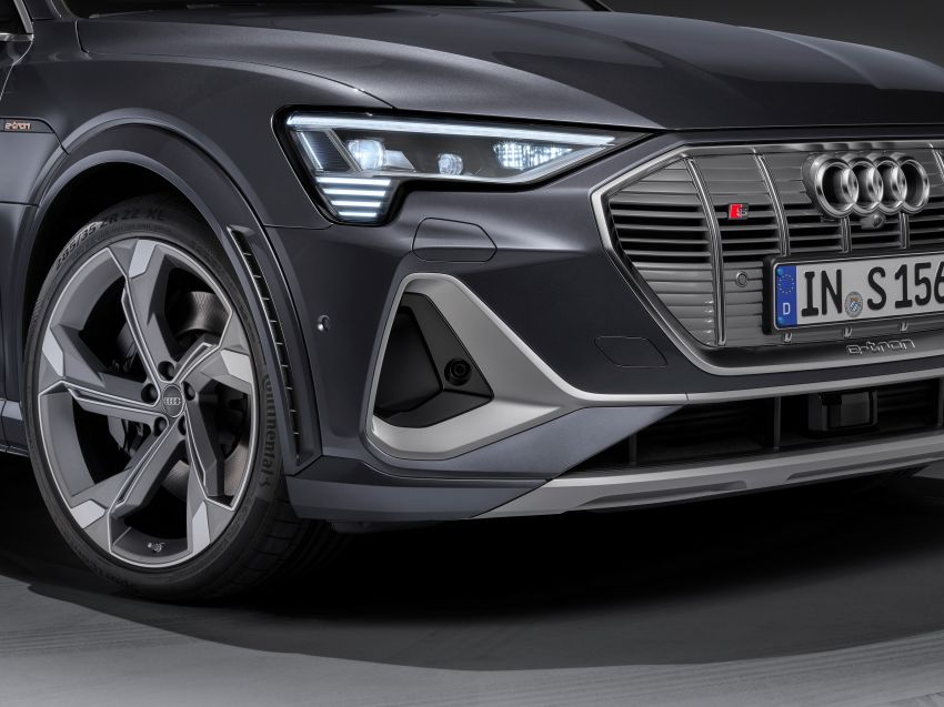 Audi e-tron S and e-tron S Sportback debut with three electric motors – 503 PS, 937 Nm; 0-100 km/h in 4.5s Image #1175727