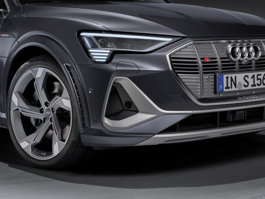 Audi e-tron S and e-tron S Sportback debut with three electric motors – 503 PS, 937 Nm; 0-100 km/h in 4.5s Image #1175729