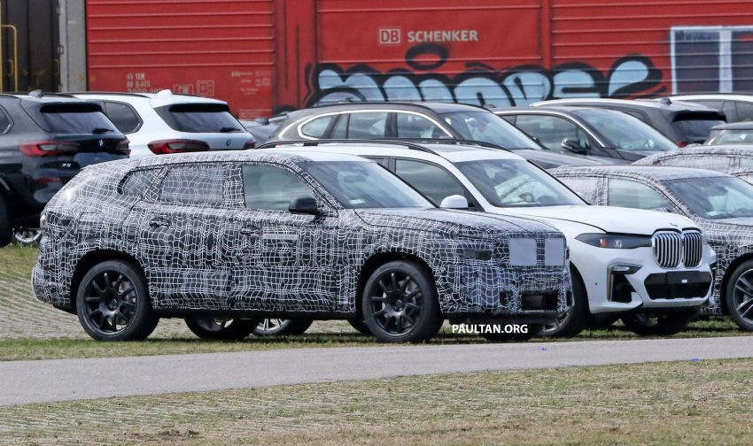 SPYSHOTS: BMW X8 sighted – a chopped-roof X7? Image #1184345