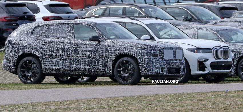 SPYSHOTS: BMW X8 sighted – a chopped-roof X7? Image #1184344