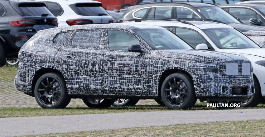 SPYSHOTS: BMW X8 sighted – a chopped-roof X7? Image #1184343