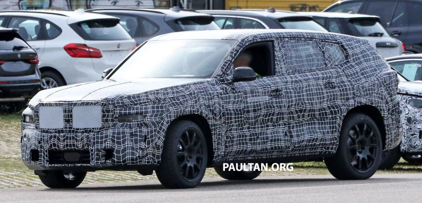 SPYSHOTS: BMW X8 sighted – a chopped-roof X7? Image #1184355