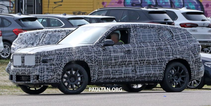 SPYSHOTS: BMW X8 sighted – a chopped-roof X7? Image #1184353