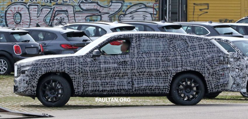 SPYSHOTS: BMW X8 sighted – a chopped-roof X7? Image #1184352