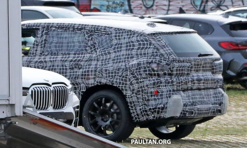 SPYSHOTS: BMW X8 sighted – a chopped-roof X7? Image #1184349