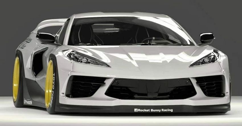 C8 Chevrolet Corvette Stingray gets Pandem body kit Image #1173128