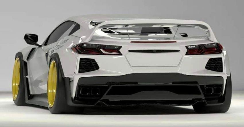 C8 Chevrolet Corvette Stingray gets Pandem body kit Image #1173130