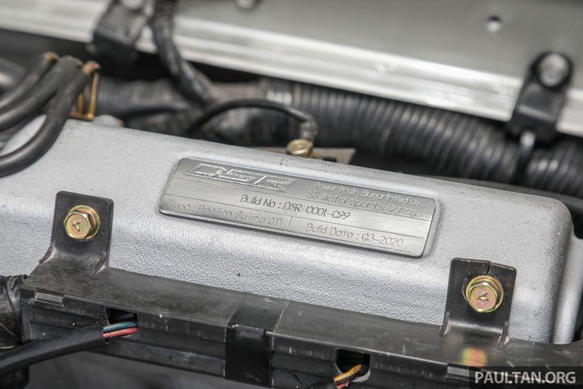 Proton Satria GTi '00 oleh Dream Street Restoration (DSR) – kereta lagenda, hasil restorasi oleh lagenda! Image #1174398