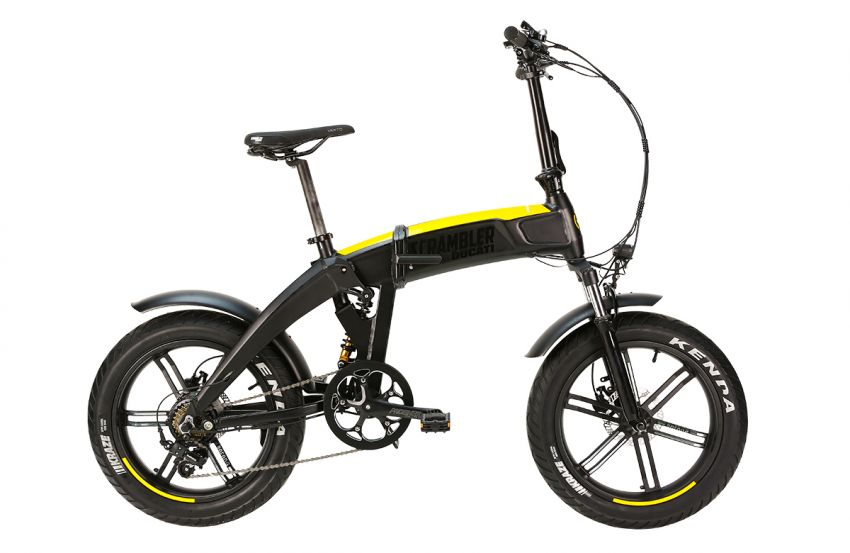 Ducati shows three new electric folding bicycles Image #1169836