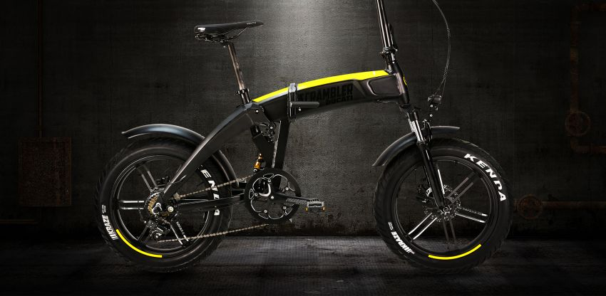 Ducati shows three new electric folding bicycles Image #1169841