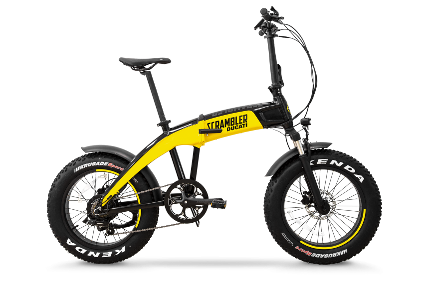 Ducati shows three new electric folding bicycles Image #1169826