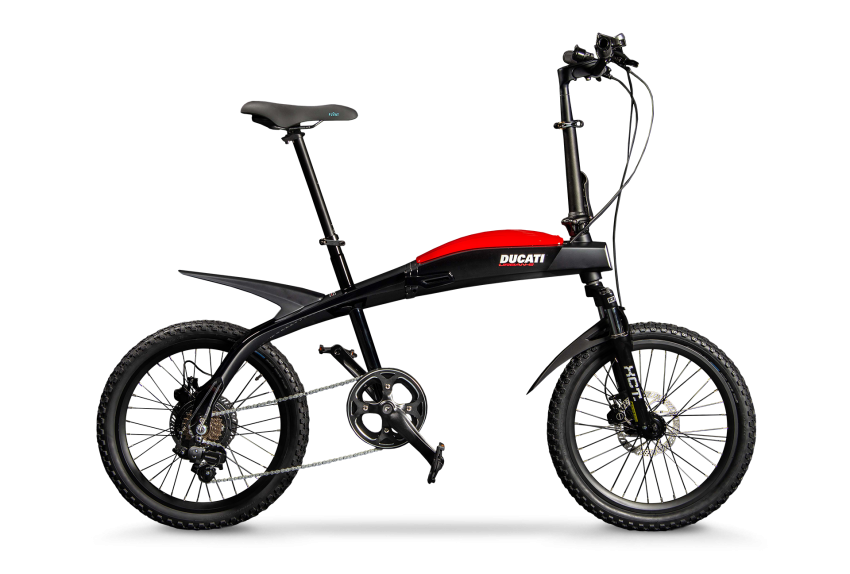 Ducati shows three new electric folding bicycles Image #1169847