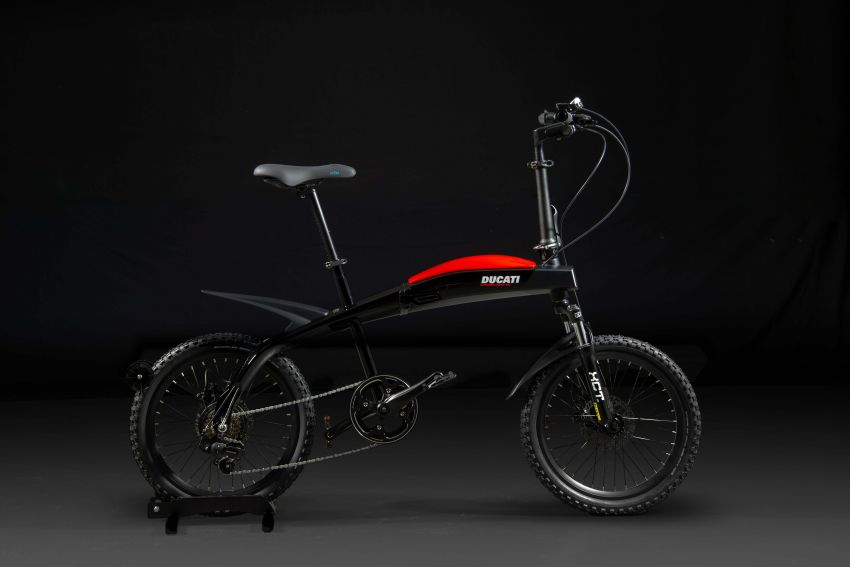 Ducati shows three new electric folding bicycles Image #1169850