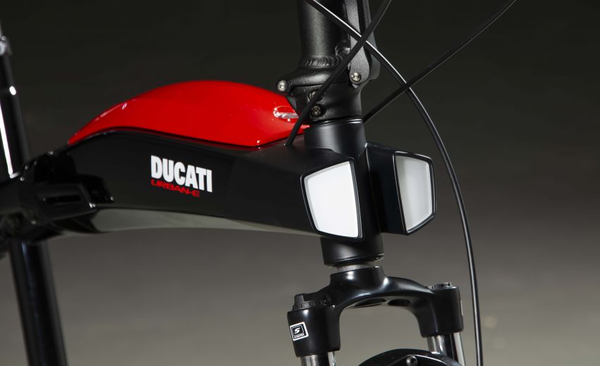 Ducati shows three new electric folding bicycles Image #1169852