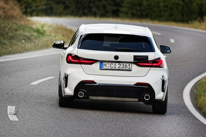 BMW 128ti F40 ditunjuk — 265 PS, 0-100 km/j 6.1 saat Image #1177955