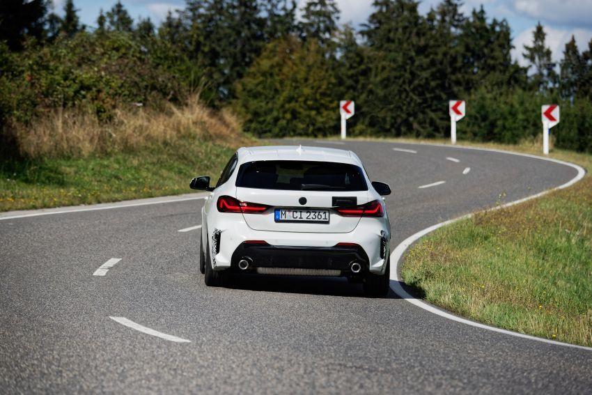 BMW 128ti F40 ditunjuk — 265 PS, 0-100 km/j 6.1 saat Image #1177956