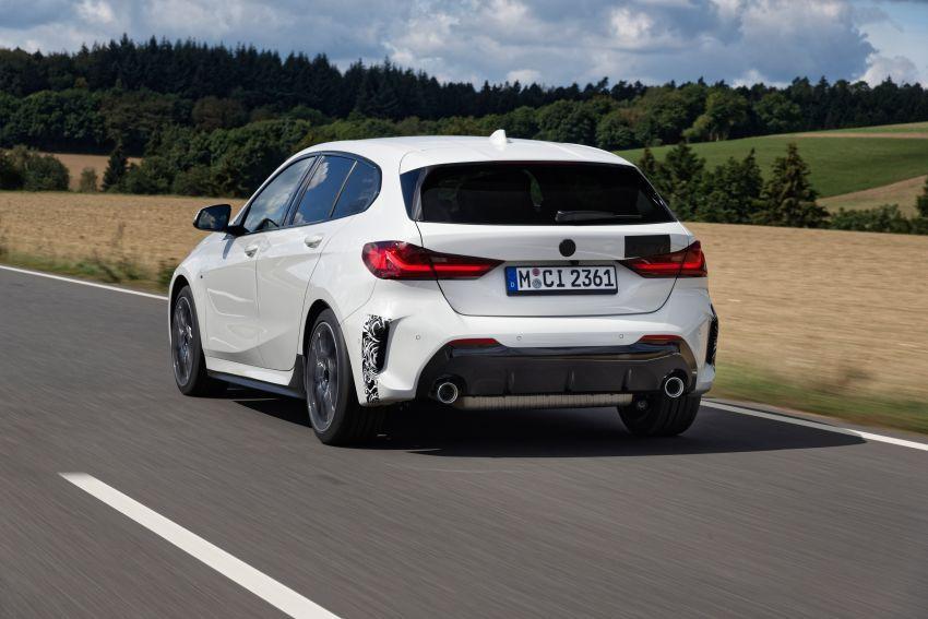 BMW 128ti F40 ditunjuk — 265 PS, 0-100 km/j 6.1 saat Image #1177962
