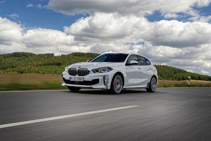 BMW 128ti F40 ditunjuk — 265 PS, 0-100 km/j 6.1 saat Image #1177964