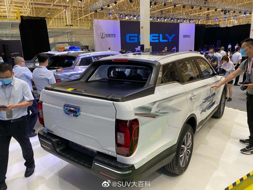 China's Farizon FX is a Geely Boyue Pro pick-up truck Image #1179119