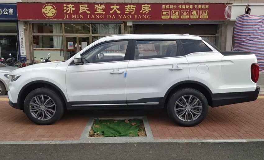 China's Farizon FX is a Geely Boyue Pro pick-up truck Image #1179122