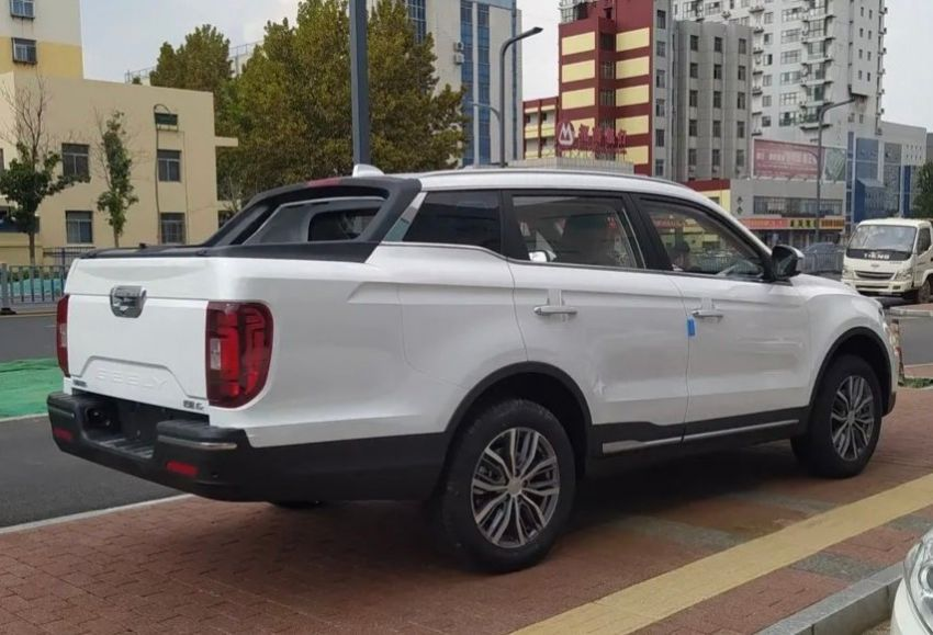 China's Farizon FX is a Geely Boyue Pro pick-up truck Image #1179125