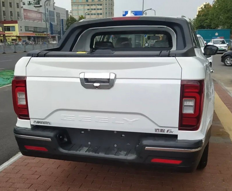 China's Farizon FX is a Geely Boyue Pro pick-up truck Image #1179126