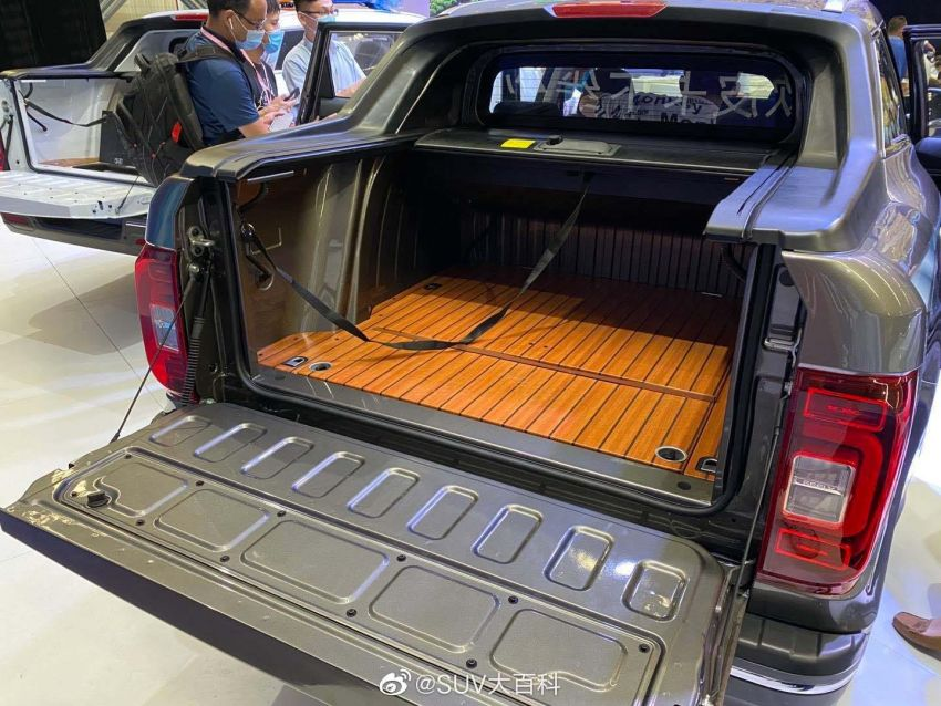 China's Farizon FX is a Geely Boyue Pro pick-up truck Image #1179115