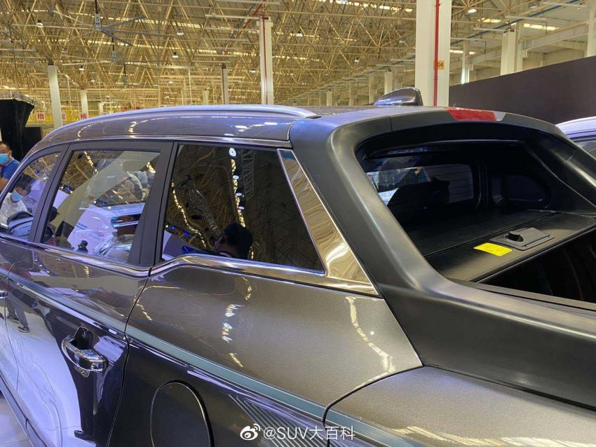 China's Farizon FX is a Geely Boyue Pro pick-up truck Image #1179116